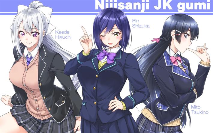 Download Wallpapers Nijisanji Group Higuchi Kaede