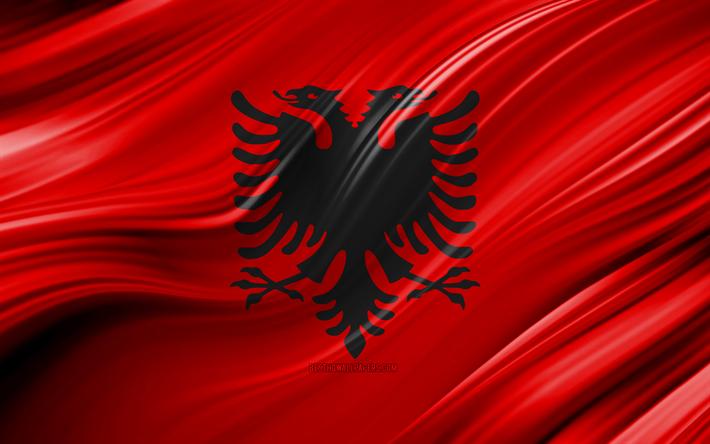 Albanien Albania Länder Fahne Flagge 150x90 Flag WM EM Fussball Hohlsaum #061