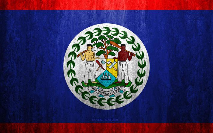 le belize drapeau