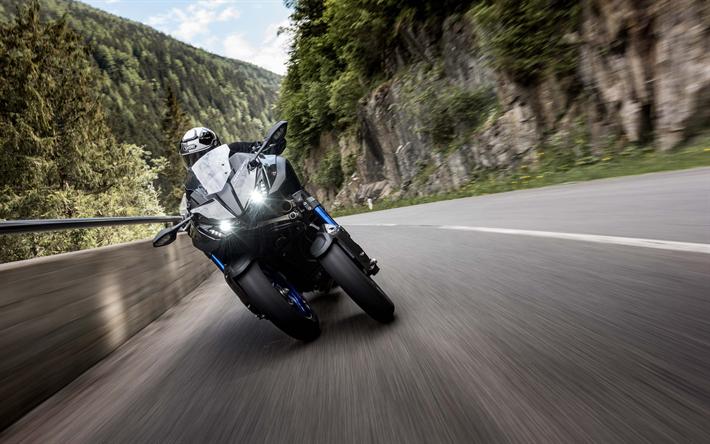 Download wallpapers Yamaha Niken, 2019, Sport Touring ...