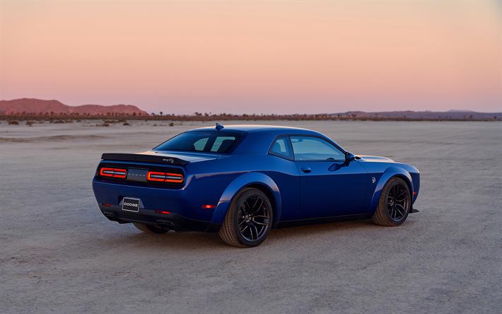 Blue Dodge Challenger >> Lataa Kuva Dodge Challenger Srt Hellcat 2019 797hp Takaa