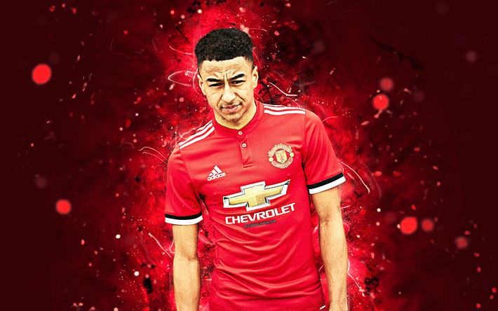 new arrival edc05 f5cae Download wallpapers 4k, Jesse Lingard, abstract art ...