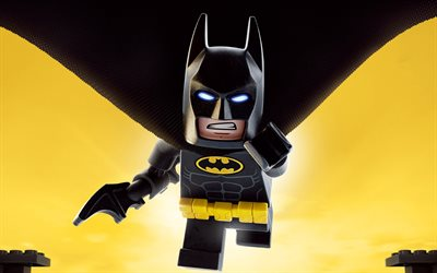 Batman, The Lego Movie 2 The Second Part, 4k, characters, poster, 2019 movie, artwork, 2019 The Lego Movie 2
