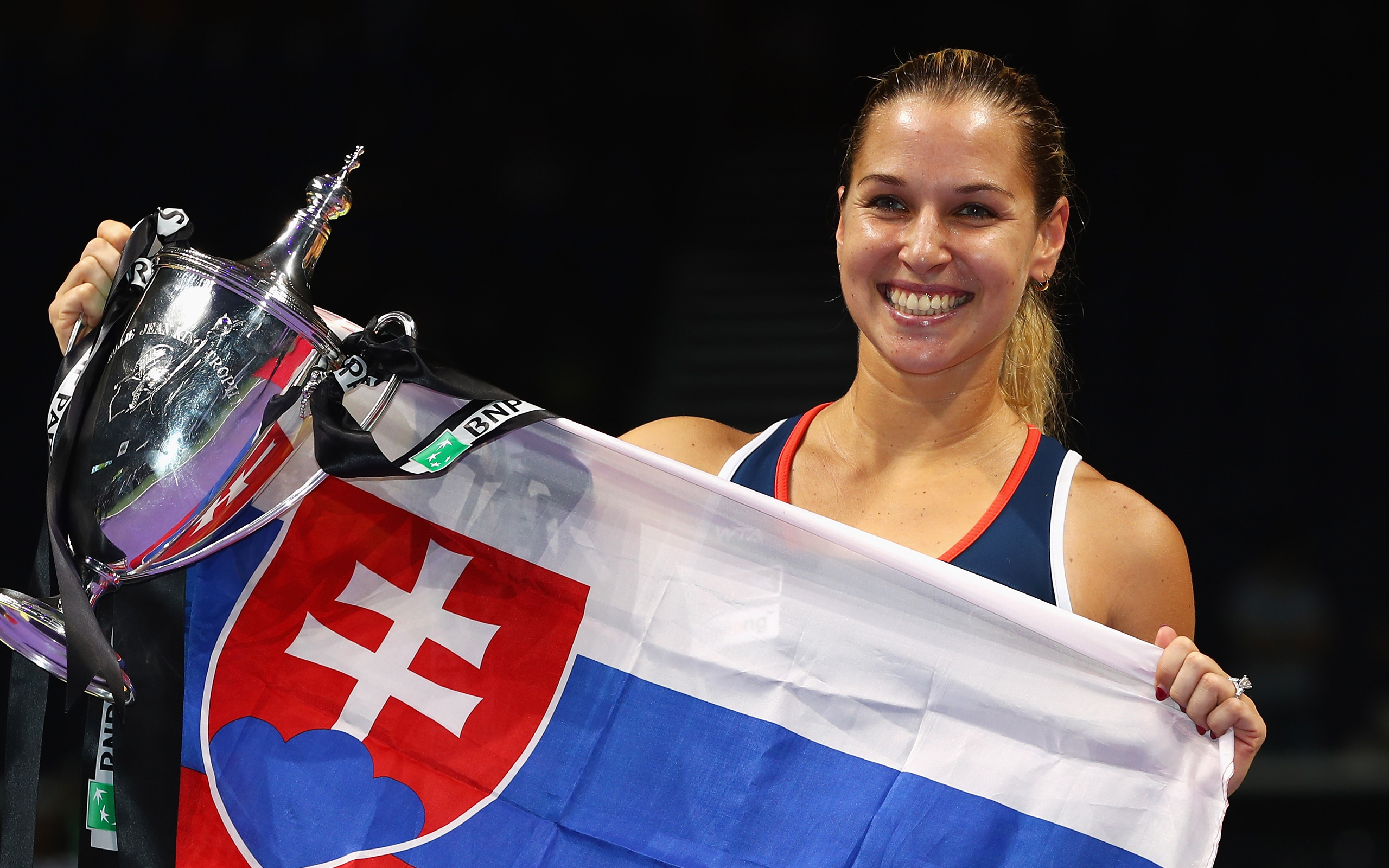 Download Wallpapers Dominika Cibulkova Tennis Wta Slovakian