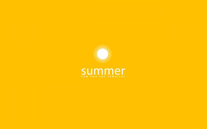 thumb2 yellow background creative summer minimal