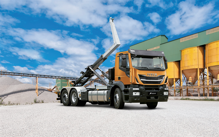 IVECO Stralis X-WAY, 2017, Truck crane, new trucks, IVECO