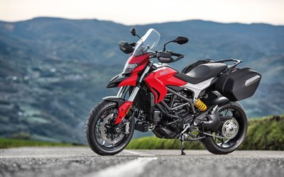 hyperstrada, 939, ducati, 2016, motorcycle, red