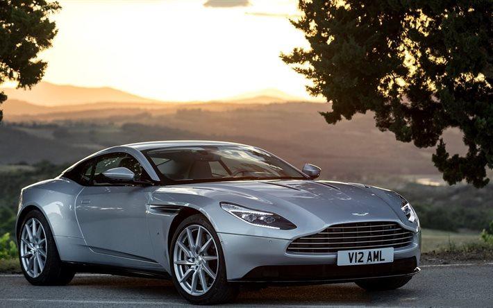 Herunterladen Hintergrundbild Silber Db11 Aston Martin Lightning Silver 2017 Für Desktop Kostenlos Hintergrundbilder Für Ihren Desktop Kostenlos