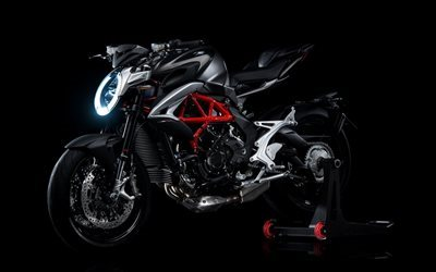 800, motorcycle, mv agusta, 2016, brutale, bike, black background