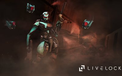 livelock, katalysator, charakter, turm, ps4, arcade-shooter, xbox one
