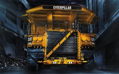 plant, mining truck, caterpillar 797f, trucks, cat, heavy truck