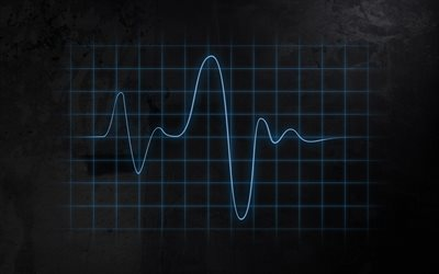 electrocardiogram, line, creative, abstraction