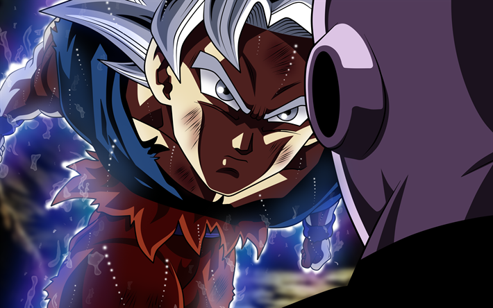 Download Wallpapers Ultra Instinct Goku Vs Hit 4k Son Goku Battle