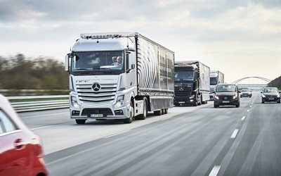Mercedes-Benz Actros, 2016, freeway, mercedes, nya lastbil