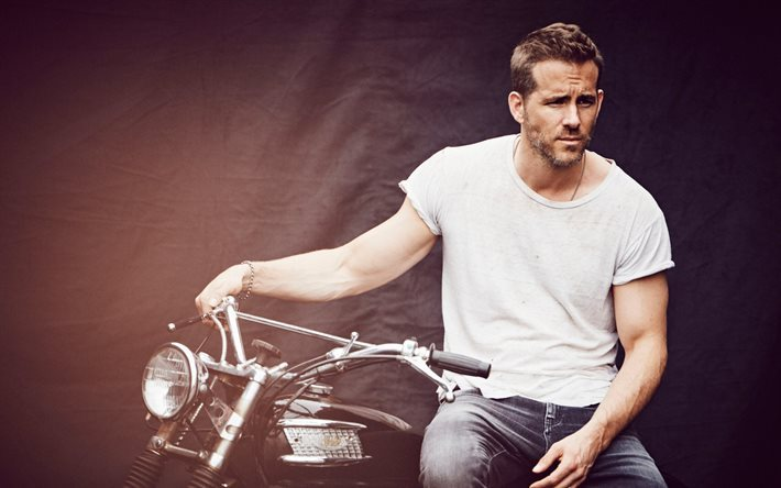Ryan Reynolds, 4k, canadian actor, movie stars, celebrities, guys
