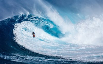 surfing, extreme sports, big wave, Surfing board