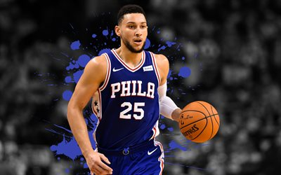 Download Wallpapers Ben Simmons 4k Basketball Players