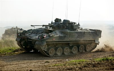 FV510 Warrior, British infantry fighting vehicle, Warrior, armored vehicles, United Kingdom