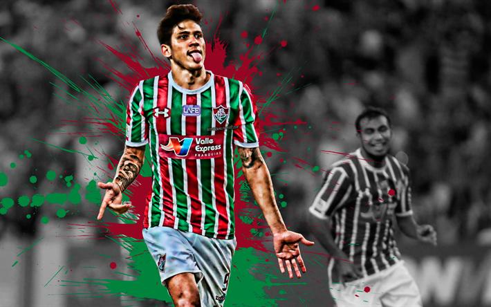 Download Wallpapers Pedro, 4k, Brazilian Football Player
