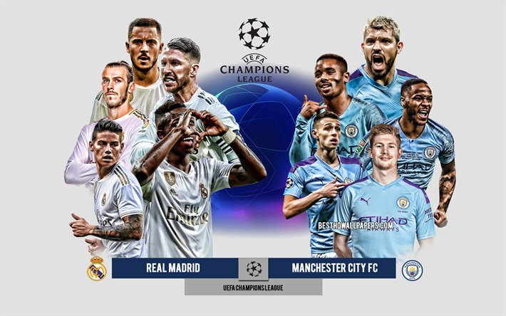 Download Wallpapers Real Madrid Vs Manchester City Fc Uefa