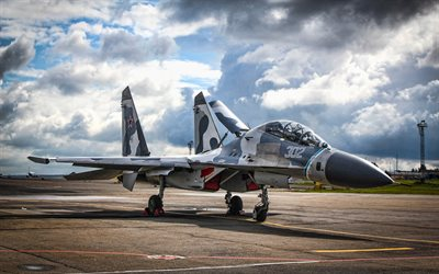 Sukhoi Su-27, HDR, caccia, Flanker-B, Russian Air Force, Su-27, Russian Army, Sukhoi, Flying Su-27