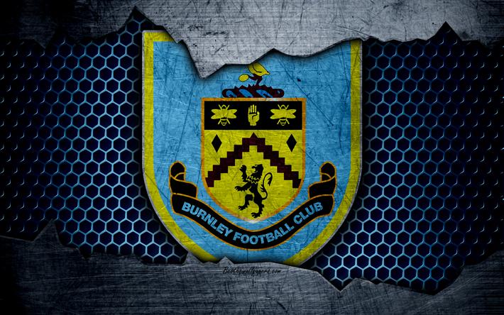 Download Wallpapers Burnley Football Club, 4k, Football