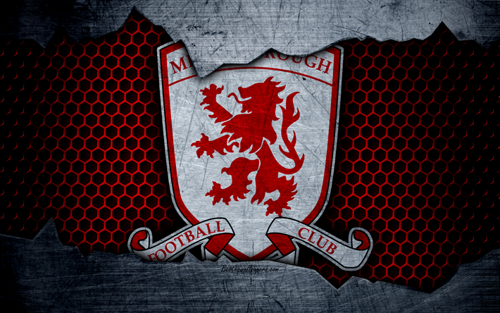 Download Wallpapers Middlesbrough FC, 4k, Football