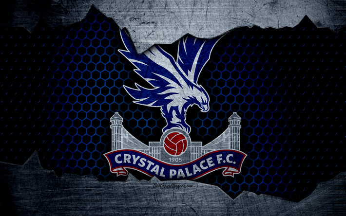 Download Wallpapers Crystal Palace FC, 4k, Football
