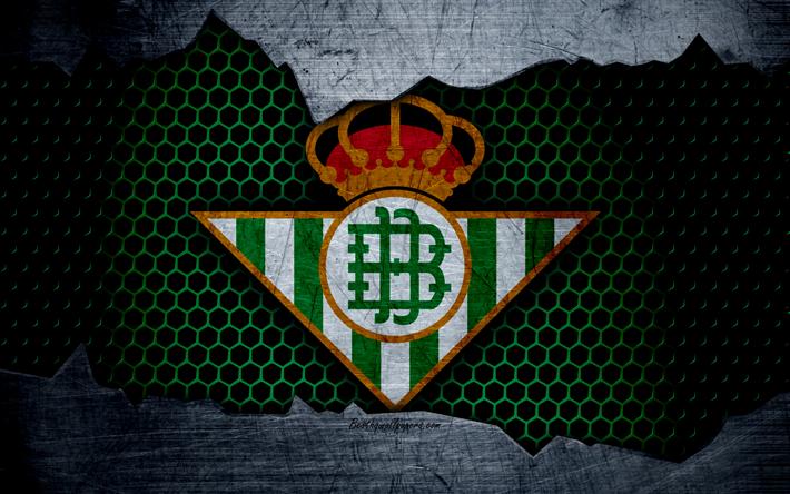 Descargar Fondos De Pantalla El Real Betis, 4k, La Liga