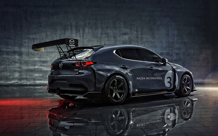 Mazda 3 Sport >> Lataa Kuva Mazda 3 Tcr 2020 Takaa Katsottuna Ulkoa