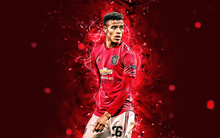 Download wallpapers Mason Greenwood, 4k, Manchester United FC, english  footballers, football stars, Premier League, Mason Will John Greenwood,  soccer, football, Man United, neon lights, Mason Greenwood 4K for desktop  free. Pictures for