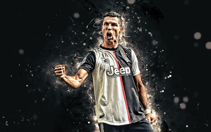 Download wallpapers Cristiano Ronaldo, 4k, Juventus FC ...