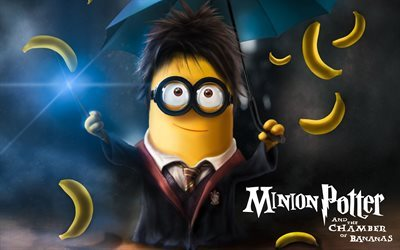 minion, Despicable Me, minion potter