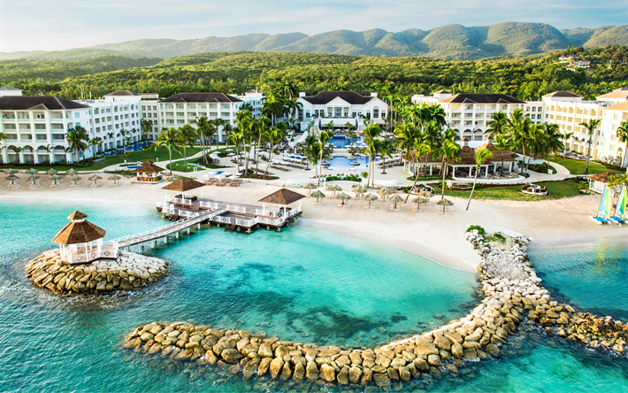 Montego Bay Jamaica Caribbean Sea Coast 4k St James Resort
