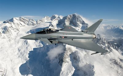 Eurofighter Typhoon, fighter, combat aircraft, military aircraft