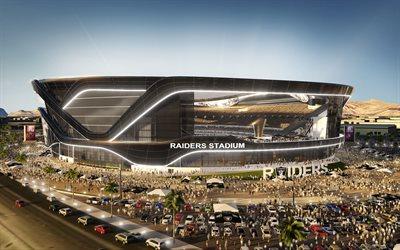 Download Wallpapers Las Vegas Stadium 3d Project 2020