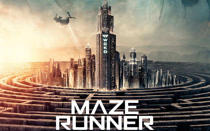 Download Wallpapers Maze Runner The Death Cure, Poster