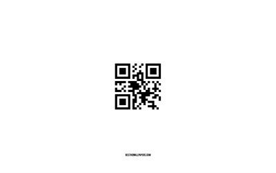 I Love You QR Code, white background, encrypted message, QR Code, I Love You, Love QR Code