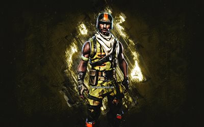 Fortnite Aerial Assault Trooper Skin, Fortnite, main characters, green stone background, Aerial Assault Trooper, Fortnite skins, Aerial Assault Trooper Skin, Aerial Assault Trooper Fortnite, Fortnite characters