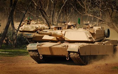 M1 Abrams, offroad, tanks, armored vehicles, US Army