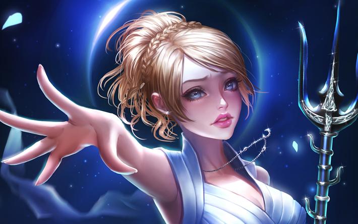 Lunafreya Nox Fleuret 4k 2018 Games RPG Final Fantasy XV
