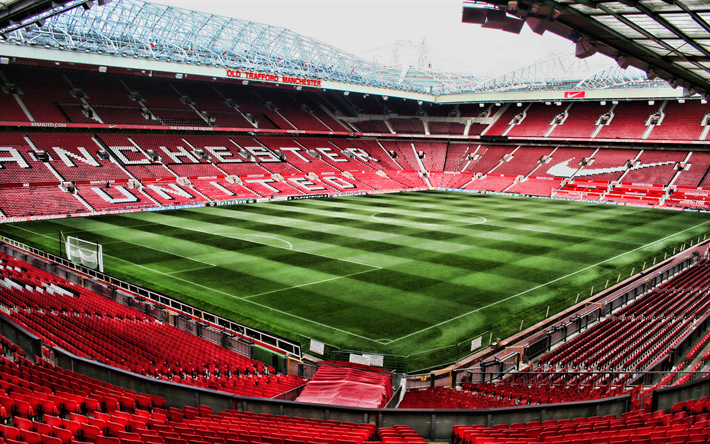Download Wallpapers Old Trafford Hdr Empty Stadium