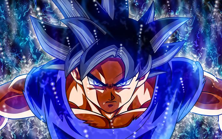 Ultra Instinct Goku Wallpaper 4k: Download Wallpapers Ultra Instinct Goku, 4k, Blue Fire
