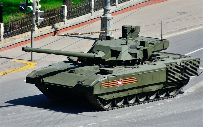 New Russian tank, Armata, T-14, Russia, battle tank, modern armored vehicles