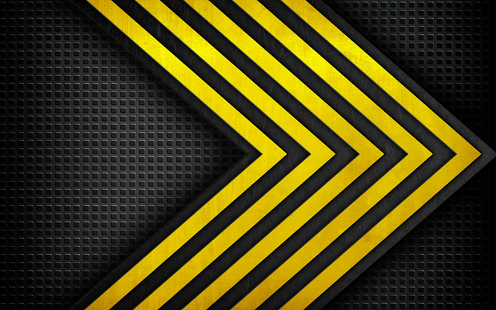 Download Wallpapers Under Construction Yellow Black Texture