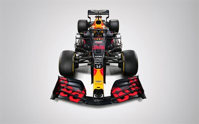 Max Verstappen, 4k, Red Bull RB16, vue de face, 2020 voitures de F1, studio, Formule 1, Aston Martin de Red Bull Racing, F1 2020, les nouvelles RB16, F1, Red Bull Racing à 2020, les voitures de F1, Red Bull Racing-Honda