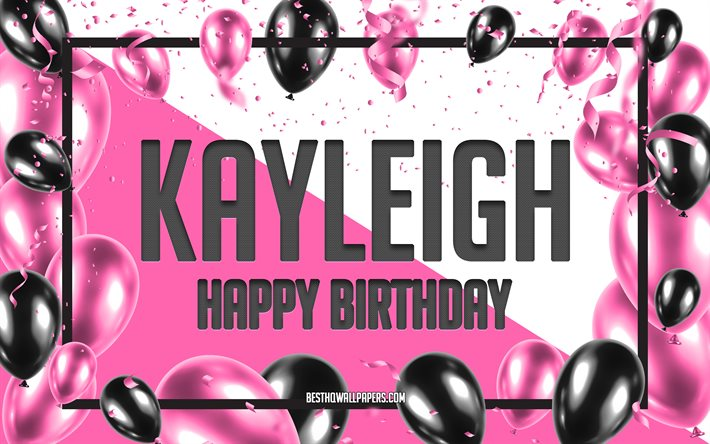 Brilliant Download Wallpapers Happy Birthday Kayleigh Birthday Balloons Funny Birthday Cards Online Sheoxdamsfinfo