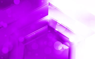4k, violet arrows, creative, abstract arrows, artwork, violet pyramid, geometric shapes, arrows, violet material design, pyramids, geometry, violet backgrounds
