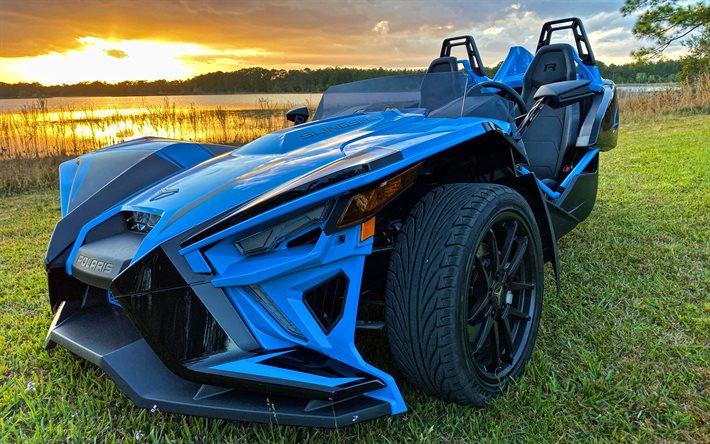 スリング ショット ポラリス 【ポラリス・スリングショット】アメリカでよく見ハイパワーな三輪自動車