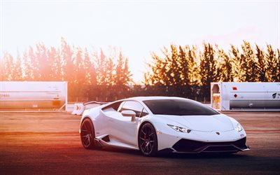download wallpapers lamborghini huracan white huracan. Black Bedroom Furniture Sets. Home Design Ideas
